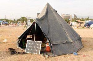 azadi March solar
