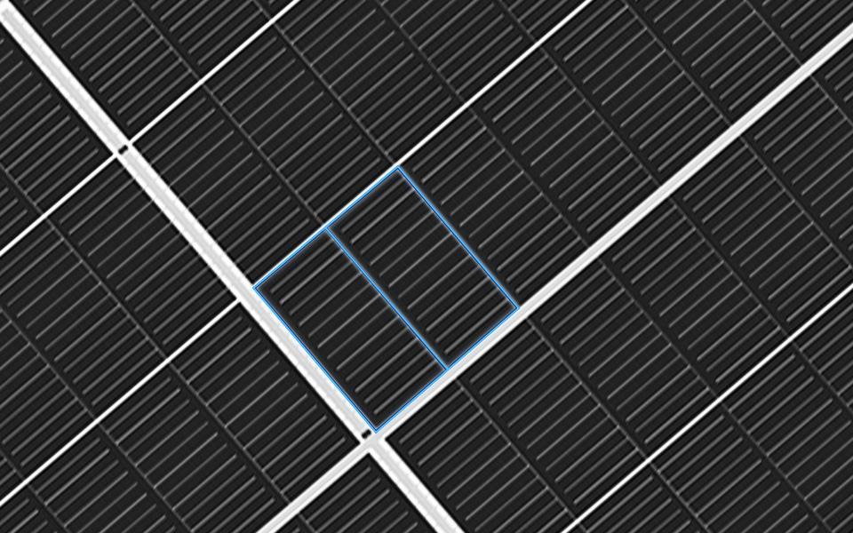 Double Glass Trina 535 Bifacial Solar Panel
